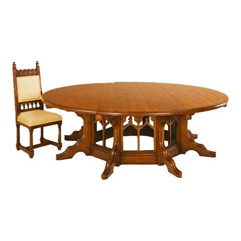 Dining Table - Gothic Pugin Design