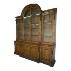 Large Pollard Oak Bookcase (circa 1890)