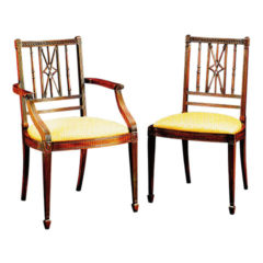 Mahogany Arrow Back Chair