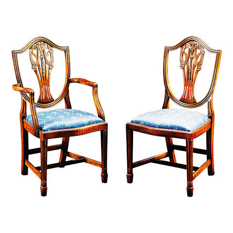 Mahogany Prince of Wales Chair
