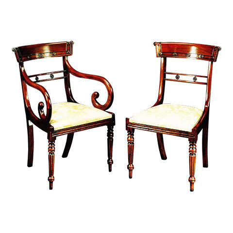 Mahogany Regency Style Chair