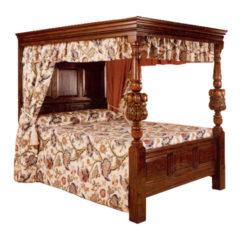 Oak 4 Poster Bed