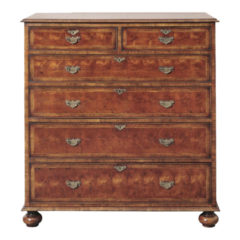 """Oyster"" Yew Wood Chest"