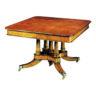 Pollard Oak Split Base Extending Table