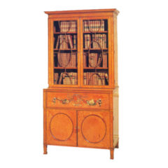 Sheraton Style Satinwood Secetaire