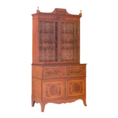 Sheraton Style Secetaire Cabinet