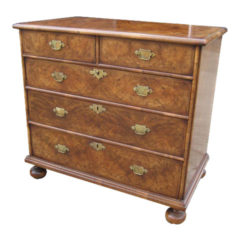 Small William and Mary Style chest of drawer